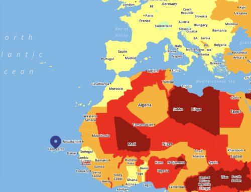 Mapa cestovních rizik